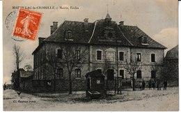 Corrèze MARCILLAC La CROISILLE Mairie, Ecoles - Otros Municipios