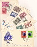 (St.Post.).Belgio.Lotto 5 FDC.Ottima Conservazione (15-19) - 1951-60