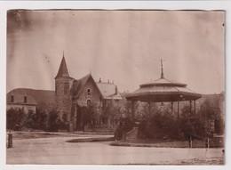 Grande Photo 17 X 12 Cm GERARDMER 88 Une Villa Et Le Kiosque 1890 - Gerardmer