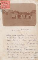 ¤¤  -  LA BAULE , PORNICHET  ???  -  Carte-Photo -  Vue D'un Groupe Sur La Plage En 1905    -  ¤¤ - La Baule-Escoublac