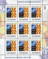 Republic Of North Macedonia / 2020 / M/S / Republic Of North Macedonia In NATO - Macedonia