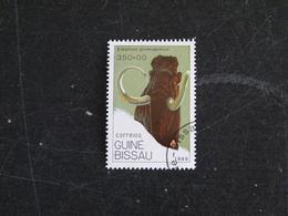 GUINEE GUINE BISSAU YT 545 OBLITERE - PREHISTOIRE MAMMOUTH LAINEUX - Guinée-Bissau