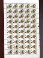 Belgie 2397 PREO PRE825 Buzin Volledig Vel FULL SHEET Vogels Birds Oiseaux MNH Plaatnummer 2 18/8/1992 89058 - 1985-.. Vogels (Buzin)