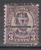 USA Precancel Vorausentwertung Preo, Locals New York, Niagara Falls 584-207, Better Stamp - United States