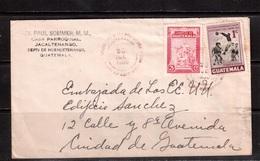 Guatemala-1950,Football, Soccer, Fussball,calcio, Letter - Calcio