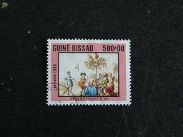 GUINEE GUINE BISSAU YT 518 OBLITERE - PHILEXFRANCE 89 PLANTATION ARBRE LIBERTE - Guinée-Bissau