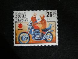 GUINEE GUINE BISSAU YT 341 OBLITERE - CENTENAIRE DE LA MOTO - SUZUKI - Guinée-Bissau