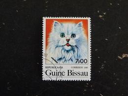 GUINEE GUINE BISSAU YT 354 OBLITERE - CHAT CAT KATZ - Guinée-Bissau