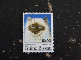 GUINEE GUINE BISSAU YT 355 OBLITERE - CHAT CAT KATZ - Guinée-Bissau