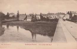 Rare Cpa Guémené-Penfao Vue Prise Côté Sud - Guémené-Penfao