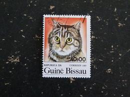 GUINEE GUINE BISSAU YT 359 OBLITERE - CHAT CAT KATZ - Guinée-Bissau