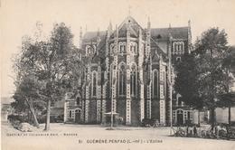 Rare Cpa Guémené-Penfao L'église - Guémené-Penfao