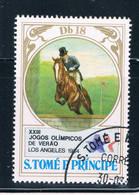 Saint Thomas And Prince Is 724 Used Equestrian CV 1.90 (GI0438)+ - Sao Tome Et Principe