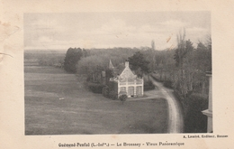 Rare Cpa Guémené-Penfao Le Brossay Vieux Panoramique - Guémené-Penfao