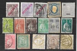 Lot En Vrac De 30 Timbres Du Portugal - Essentiellement 1895-1960 - Timbres