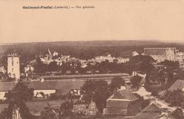 Rare Cpa Guémené-Penfao Vue Panoramique - Guémené-Penfao