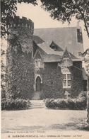 Rare Cpa Guémené-Penfao Château De Trégoaz - Guémené-Penfao