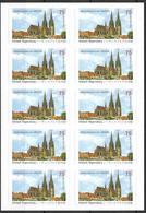 2011 Allem. Fed. Mi. Folienbl. 14 **MNH  Regensburg UNESCO - [7] République Fédérale
