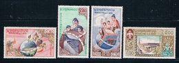 Laos 48-51 MLH Set UNESCO 1958 CV 2.35 (MV0225) - Laos