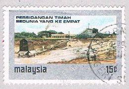 Malaysia 123 Used Tin Mine (BP2344) - Malaysia (1964-...)
