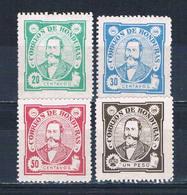 Honduras 99-102 Used President Arias 1896 CV 3.55 (HV0164)+ - Honduras