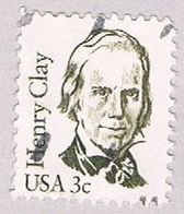 US 1846 Used 3c Henry Clay 1980 (BP43238) - Etats-Unis