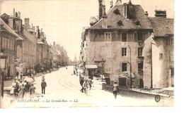 25 - Pontarlier - La Grande-rue - Pontarlier