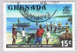 Grenada 592 Used Fishermen 1975 (BP3626) - Grenada (1974-...)