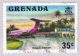 Grenada 595 Used Pearls Airport 1975 (BP3625) - Grenada (1974-...)