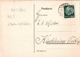 ! 1934 Postkarte Aus Dossow, Ostprignitz, Försterei Friedrichsgüte - Storia Postale