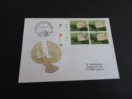 FC2209 -  Philatelie Enveloppe Adressed Suisse 1984  - Temple XVIIIe - Malleray-Bevilard - Lettres & Documents