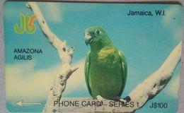 6JAMF Parrot J$100 - Jamaica