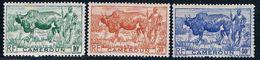Cameroun 304-06 MNH Zubu And Herder 1946 CV 1.50 (C0259)+ - Cameroun (1915-1959)