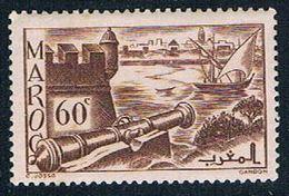French Morocco 160A MLH Ramparts 1939 (F0122)+ - Maroc (1891-1956)