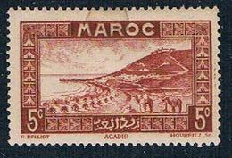 French Morocco 127 MLH Roadstead At Agadir 1933 (F0128)+ - Maroc (1891-1956)
