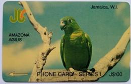 7JAMB Parrot J$100 - Jamaica