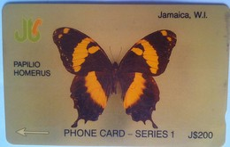 7JAMA Butterfly J$200 - Jamaica