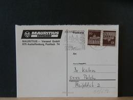 51/672 CP ALLEMAGNE 1962 - Storia Postale