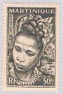 Martinique 219 MLH Martinique Girl 1947 (BP3849) - Martinique (1886-1947)