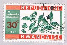 Rwanda 29 Used Tea 1963 (BP29524) - Rwanda