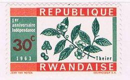Rwanda 29 MNH Tea 1963 (R0577) - Rwanda
