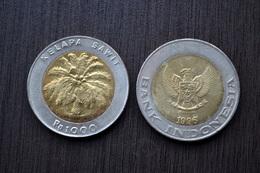 Indonesien Münzen Indonesia 1,000 Rupiah Km56 Coin Currency - Indonesia