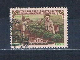 Russia 1589 Used Picking Tea 1951 CV 8.00 (HV0203) - Russia & USSR