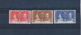Antigua 81-83 MLH Set Coronation Issue CV 2.00 (A0185) - Antigua & Barbuda (...-1981)
