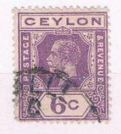 Ceylon 231 Used King Edward VII 1921 (C0289) - Ceylan (...-1947)