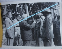 Photox2 ABL CONGO Kongo 1948 Commémoration Combats De Kato 1914-18 Armée Belge Belgische Leger Militaria - Guerre, Militaire