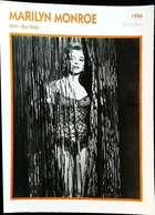Marilyn MONROE (Bus Stop ) 1956 - Portrait Star Cinéma . Photo-Fiche Filmographie . Collection Edito Service - Foto
