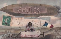 78, Amitiés De Sartrouville, Ballon Dirigeable - Sartrouville