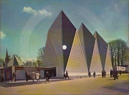 Disque Sur Papier Carte Expo58 Expo 58 Bruxelles - Formats Spéciaux