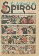 Le Journal De SPIROU - 6ème Année N° 31 - 5 Août 1943 - Jijé - Sirius - Rob Vel - F;Dineur - BON ETAT - Spirou Magazine